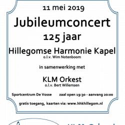 jubileum concert hhk